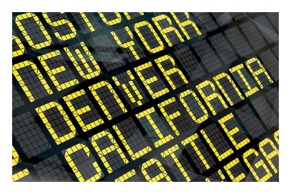 Airport Flight Screen